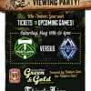 Timbers vs. Whitecaps Viewing Party