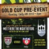 Gold Cup Pre-Event @ Thirsty Lion