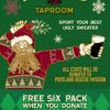 Portland Brewing's Ugly Holiday Sweater Party
