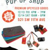 LOOPTWORKS Holiday Sale Pop Up Shop in Downtown Portland