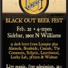 Black Out Beer Fest @ Sidebar