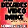 All Decades Video Dance Attack June 21 2014