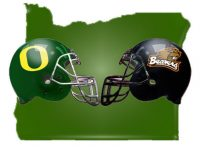 Oregon Civil War Ducks vs Beavers