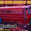Shanghai Portland Party Bus New Year's Eve Galactic Bus