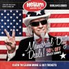 Helium Memorial Day Sale