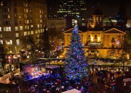 Portland Christmas Holiday Tree