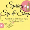 Spring Sip & SHop @ Hip Chicks