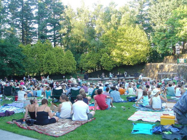 portland concerts in the parks - mt tabor