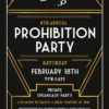 Prohibition party-