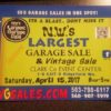 NW's Largest Garage sale