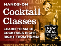 Summer Cocktail Classes @ New Deal Distillery