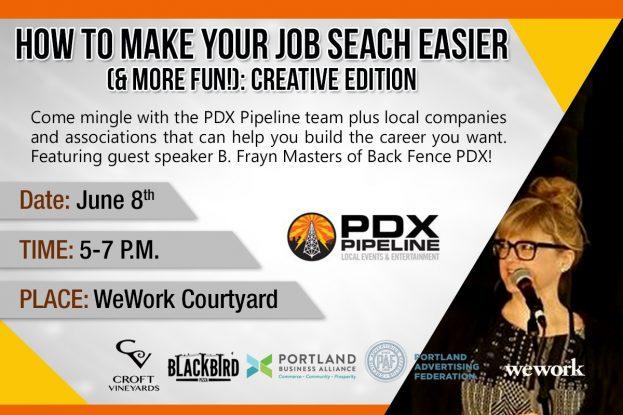 PDX Jobs Creative Ad