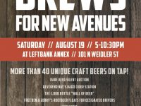 Brews for New Avenues @ Left Bank Annex