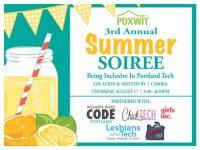 Women + Tech 2017 Portland Summer Soirée @ Cambia Health Solutions
