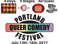 Portland Queer Comedy Rainbow FB