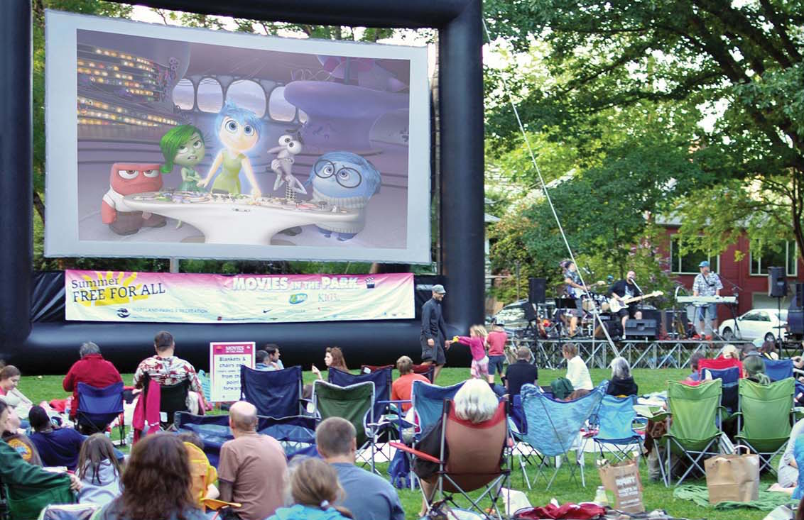 The Summer Of 2017 Marks The 11th Season Of Movies In The Park Throughout  Portland Communities! Evening After Evening, Summer Nights In Portland  Parks Offer ...