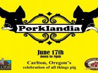 Porklandia - Carlton's Town-Wide Celebration of All Things Pig, Raffle, Food