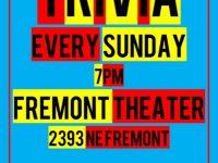 Fremont Trivia