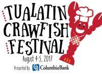 2017 Tualatin Crawfish Festival Logo