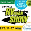 2017 Portland Fall RV & Van Show @ Portland Expo Center
