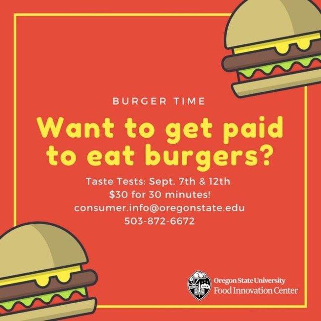 Get Paid To Taste Test Food