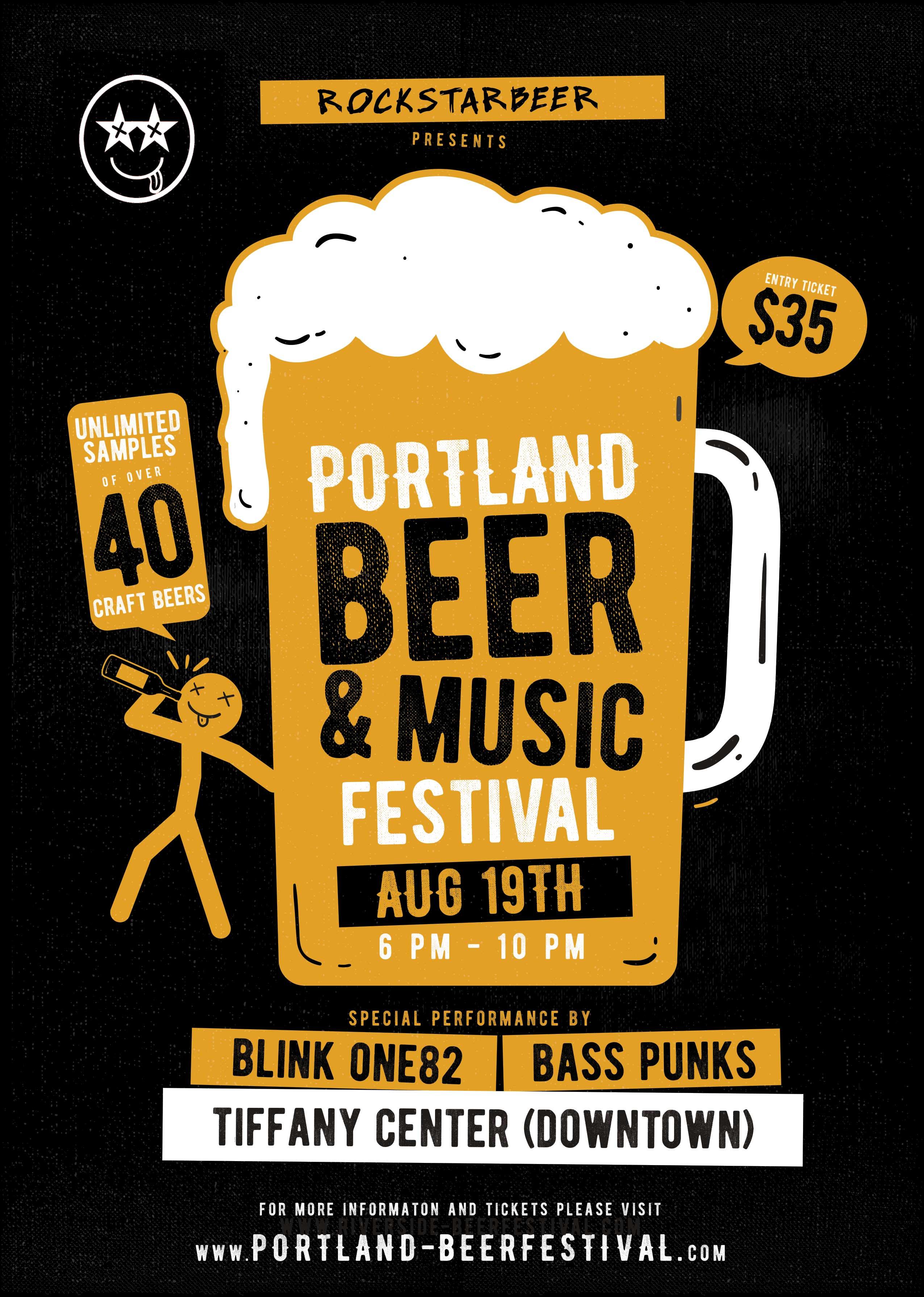 Sip Unlimited Samples Of 40 Craft Beers At Portland Beer Music