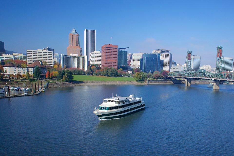 Take In The Sights From A Different Perspective W Portland Spirit City Cruis