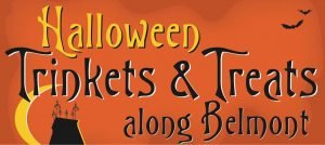 October 31 @ Belmont - Look for a pumpkin poster in each participating business window with candy & screams at Bare Bones Café & Bar (29th and Belmont), to Belmont EcoLaundry (47th and Belmont). End your route at Hawthorne Gardens (28th and Taylor) to enjoy a free haunted house!