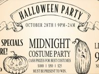 HALLOWEEN PARTY @BONES!
