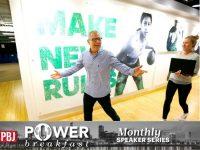 Mark King, President of Adidas, Power Breakfast
