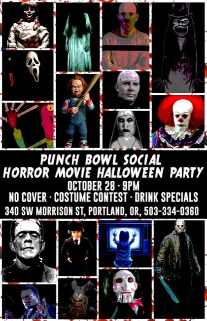From Our Sponsors. Horror Movie Halloween Party