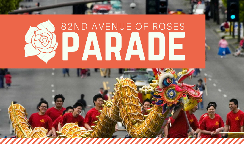 2018 82nd avenue of roses parade carnival free entertainment