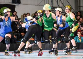 Rose City Rollers at Oaks Park
