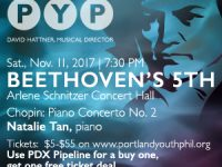Win Tickets ($): Portland Youth Harmonic Presents Beethoven's 5th