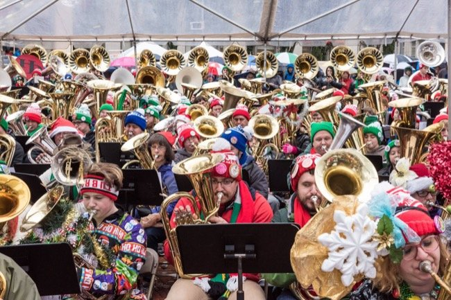 FREE Holiday Music in Downtown Portland