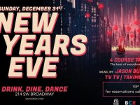 NYE 2017 at Saucebox w/ Jason Burns, Ginkgo, Ychtclb, TVTV & Takimba