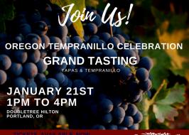 Oregon Tempranillo Celebration 2018