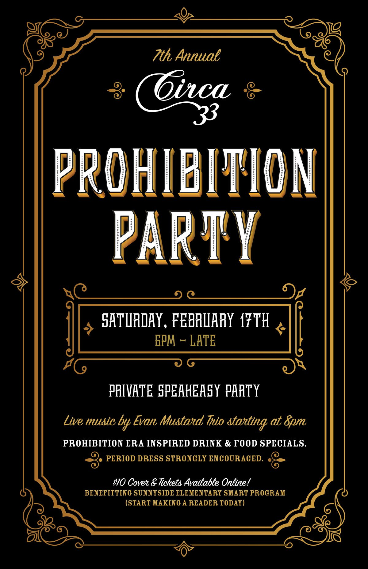 Prohibition Food And Wine