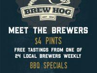 brew hog poster