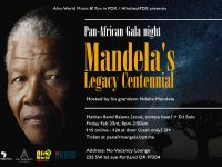 Pan-African Gala (Mandela's Legacy) @ No Vacancy Lounge | Hosted by Ndaba Mandela, Live Music, DJ