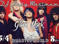 Glam Rock Night with DJ Andy Maximum