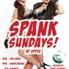 Spank Sundays Social Media Post