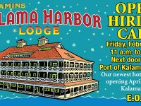 kalama harbor lodge hiring call