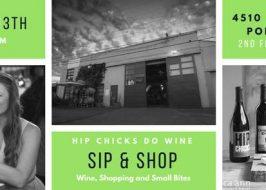 Sip & Shop April