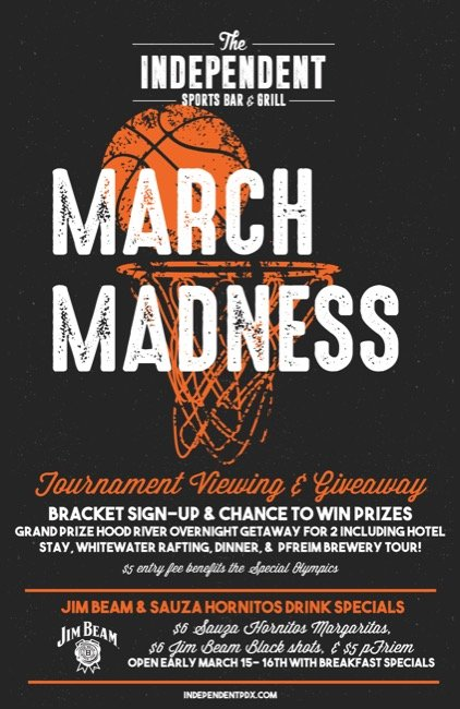 Events portland events jobs festivals local businesses more watch 2018 march madness downtown portlands the independent ncaa basketball championship bracket challenge huge prizes food dink specials malvernweather Choice Image