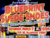 Blueprint Suede Shoes!