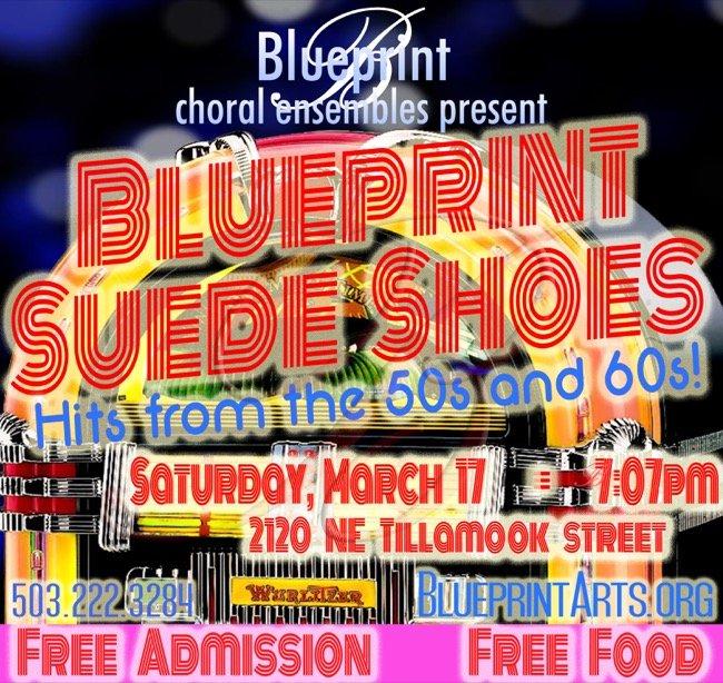 Blueprint choral ensemble presents blueprint suede shoes all ages venue blueprint choral ensemble concerts malvernweather Choice Image