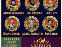 Undertow Comedy Festival promo poster