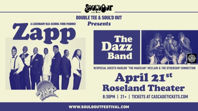 Win tickets 63 sould out music festival presents funk legends win tickets 63 sould out music festival presents funk legends the zappthe dazz band the roseland theater w marlon l mcclain the othership stopboris Images
