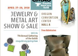The 2018 Jewelry and Metal Arts Show